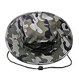 Kolumb Must Have Unisex Military Boonie Hat (Coffee Camouflage)