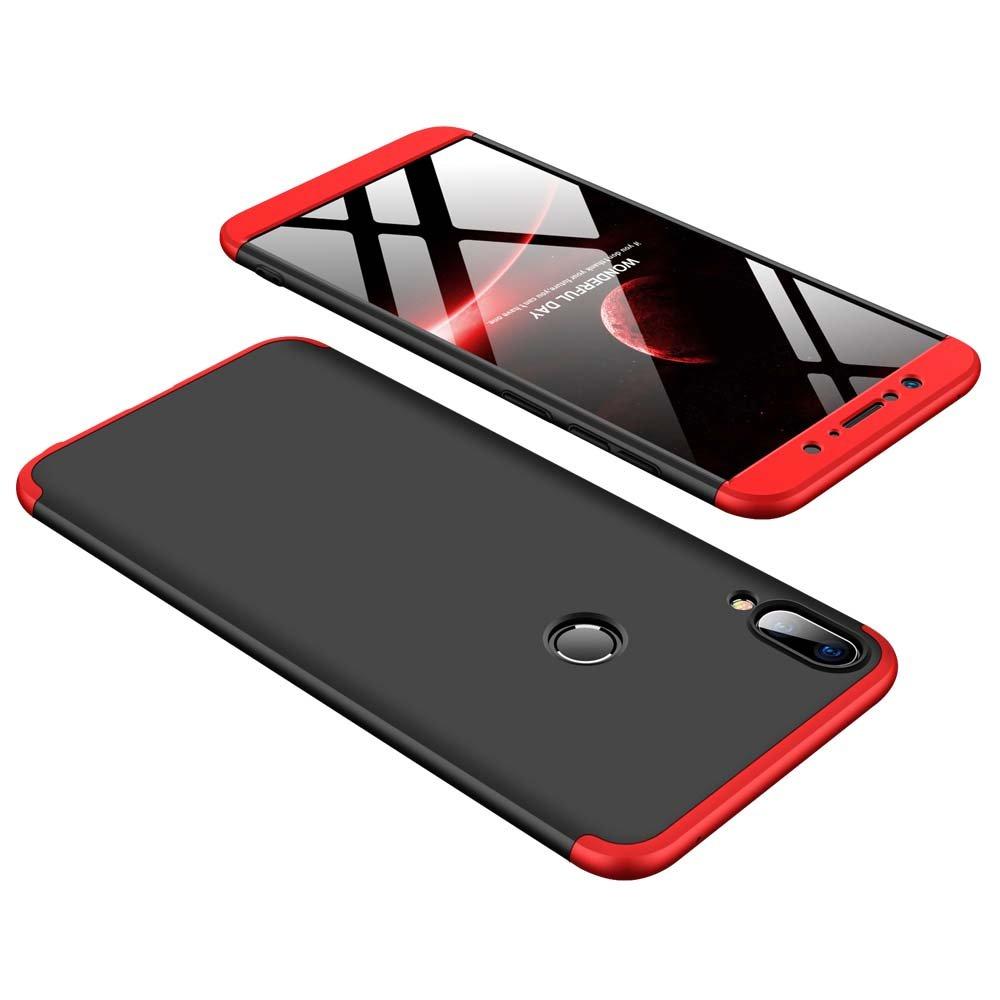 Bigcousin Funda para ASUS ZenFone MAX Pro M1 ZB601KL, Funda 360 Grados Protección Ultra Slim Cubierta PC Hard Case + Cristal Templado,3 in 1 Carcasa Case ...