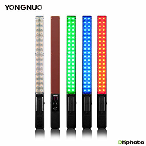 YONGNUO YN360 Handheld LED Video Light 3200k 5500k RGB Colorful Stick Professional Photo LED Stick