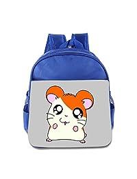 Toddler Kid Hamtaro Anime Cartoon Adorable Funny Hamster Schoolbags Backpacks