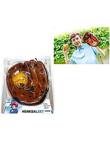 Angel Sports 080015 Guante de béisbol Left-Hand Baseball Glove - Guantes de béisbol (