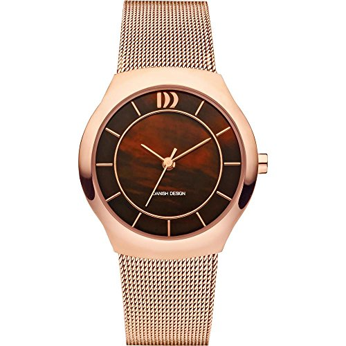 DANISH DESIGN WOMEN'S 30MM STEEL BRACELET & CASE QUARTZ ANALOG WATCH IV67Q1132