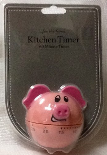 Piggy Kitchen Timer ~ 60 Minute ~ DII for the Home