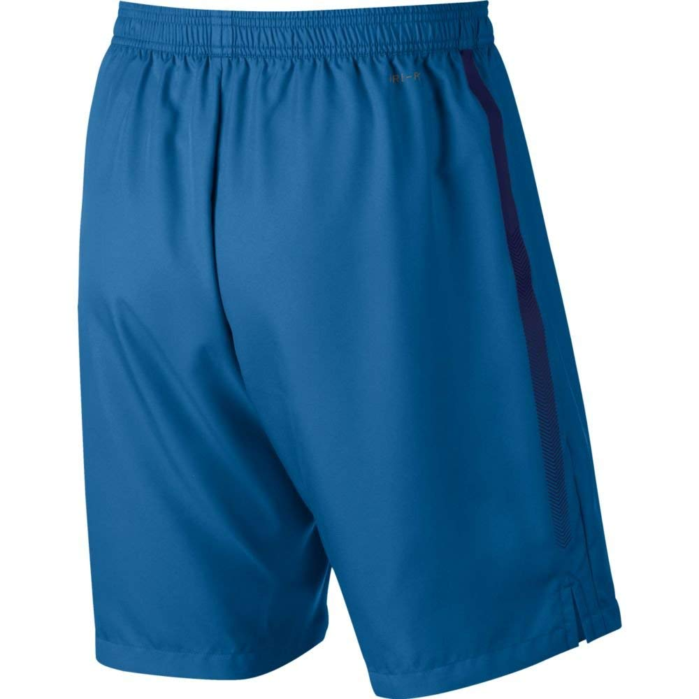 Nike Men's Court Dry 9'' Short (Military Blue/Blue Void, X-Small) by Nike (Image #4)