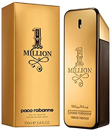fc9b2a54a 1 Million by Paco Rabanne for Men - Eau de Toilette, 100ml: Amazon.ae