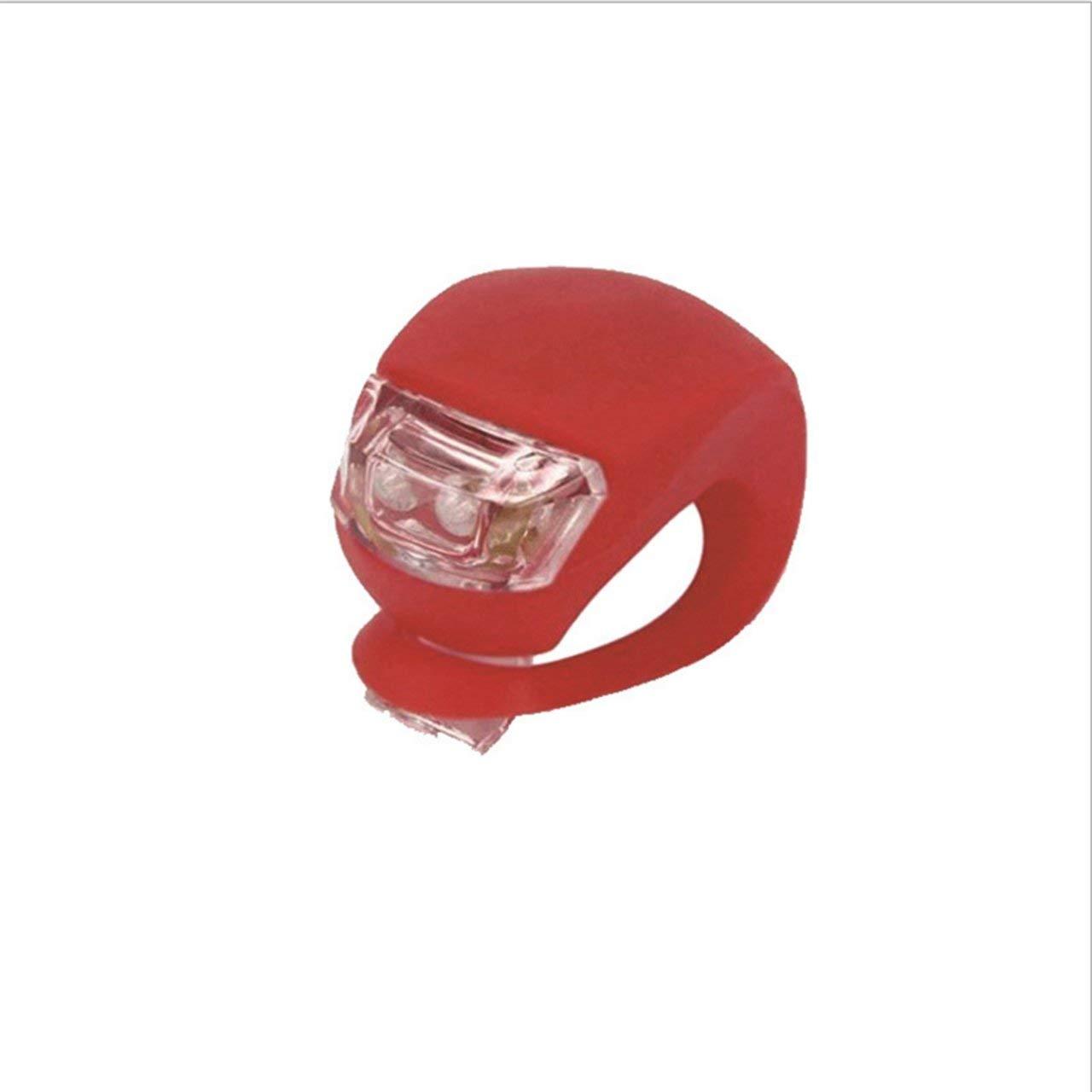 Jasnyfall roja Luz de Bicicleta Luz de Rana de Cinco Generaciones Luz de Advertencia de Silicona LED Impermeable Luz de Advertencia de Seguridad de Marcha Nocturna Luz Trasera