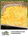Creamy Baked Macaroni and Cheese (Garden Graduation Party)