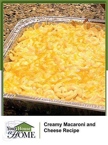 Creamy Baked Macaroni and Cheese (Garden Graduation Party) ()