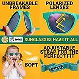 Flexible Baby Sunglasses + hard case - 400UV