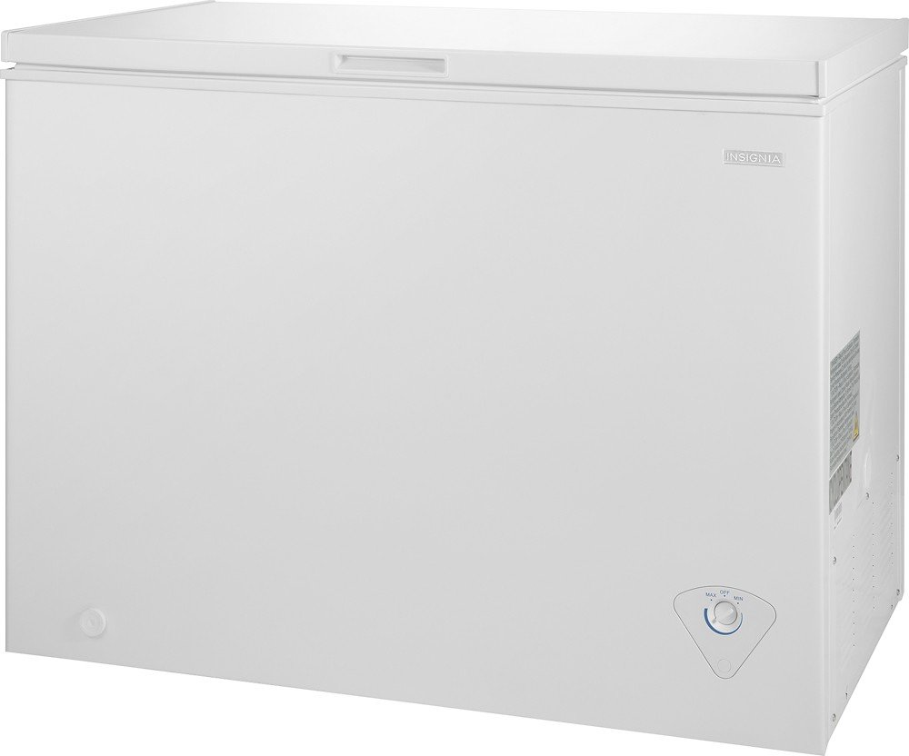 5. Insignia NS-CZ10WH6 10.2 Cu. Ft. Chest Freezer - White