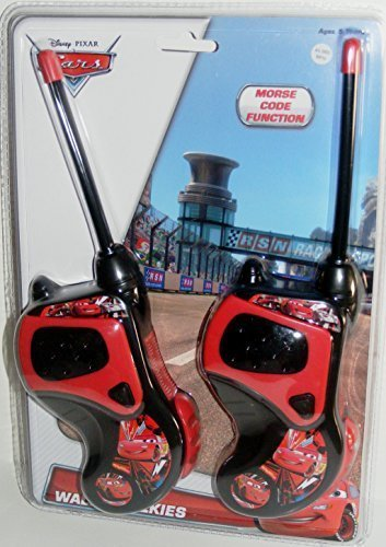 Disney Cars Walkie Talkies with Morse Code Function by Disney Pixar (Image #1)