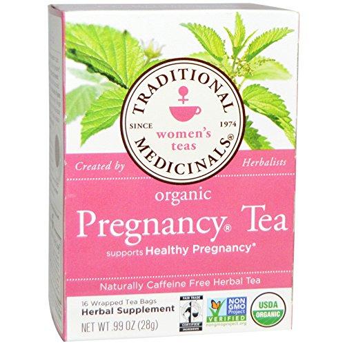 Traditional Medicinals Pregnancy Tea, Women's Tea, Organic, 16 CT