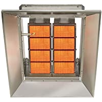 SunStar Heating Products Infrared Ceramic Heater - NG, 80,000 BTU, Model# SG8-N