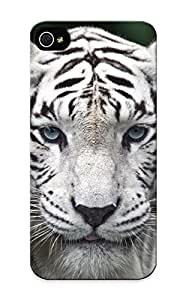 Animal White Tiger Case Compatible With Iphone 5/5s/ Hot Protection Case(best Gift Choice For Lovers)