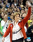 Pat Summitt autographed 8x10 photo (Team USA Womens Basketball Coach Gold Medal) PSA DNA Authentication #X71176