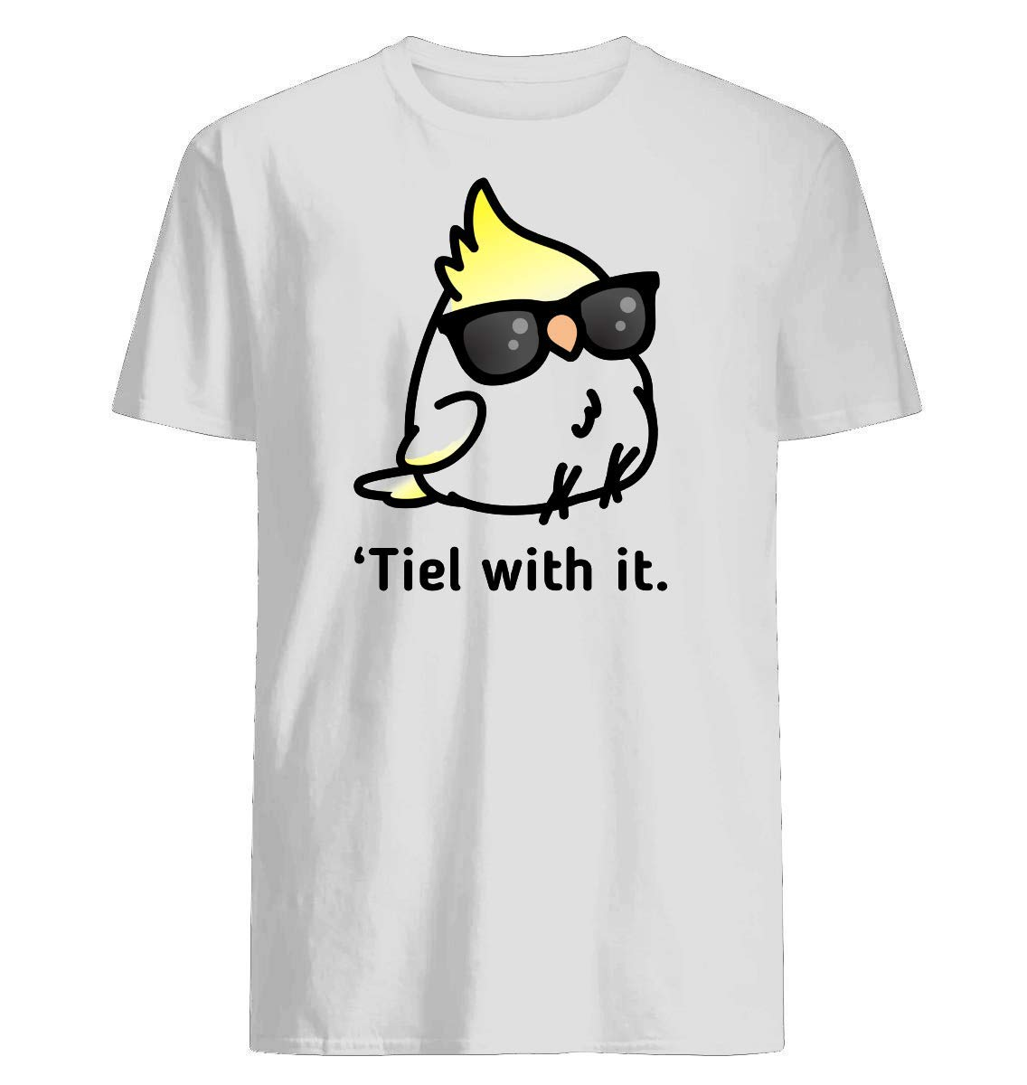 Tiel With It Short Sleeve Graphic Fashion T-shirt