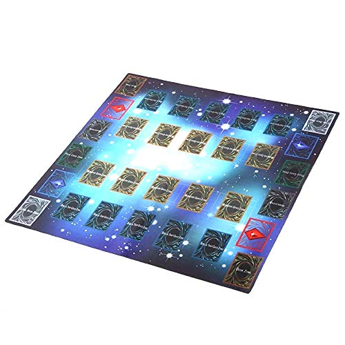 Rubber Play Mat 60x60cm Galaxy Style Competition Pad Playmat for Yu-gi-oh Card from Starpromise