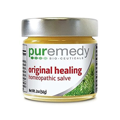 Homeopathic Ointment - Puremedy Original Healing Homeopathic Salve (2oz)