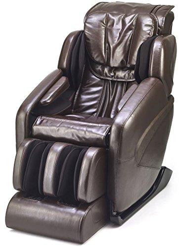 Attractive Jin   Deluxe L Track Massage Chair W/ Zero Gravity (Espresso)