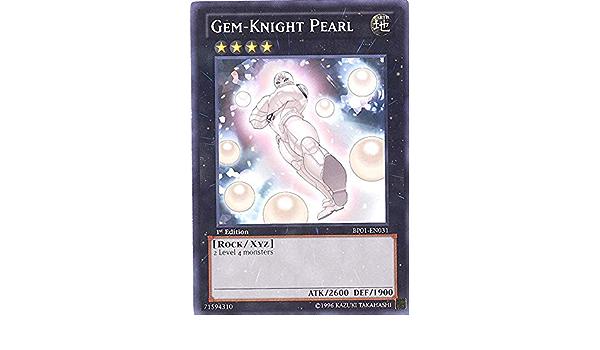 BP01-FR031 Yu Gi Oh Perle Chevalier-gemmes Gem-Knight Pearl