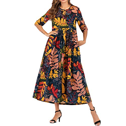 (UNBER Women Size Long Maxi Party Dress for Loungewear Holidays Nightwear Beach Everyday Cover )