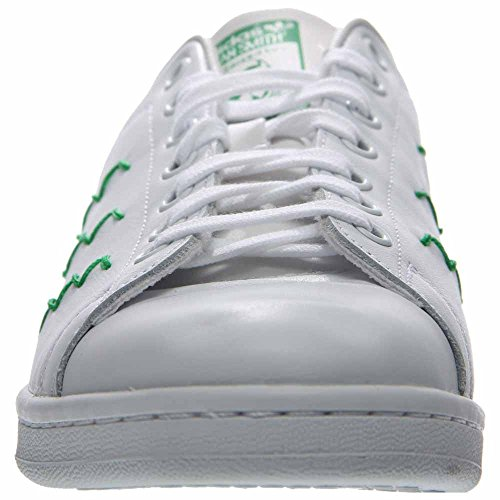 Adidas Vrouwen Stan Smith Enkel-high Fashion Sneaker Wit / Groen