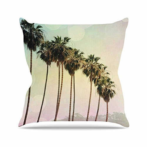 "Kess InHouse Sylvia Coomes ""Palm Trees"" Coastal Photograp..."