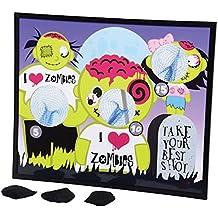 I Heart Zombies Zombie Theme Bean Bag Toss Cornhole Game Set