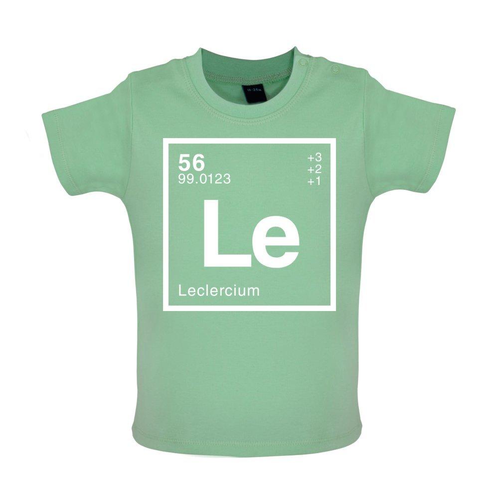 23a8e26aa8a66 Leclerc - Élément Périodique - Marrant T-Shirt bébé - 8 couleurs - 3 à 24  Mois  Amazon.fr  Vêtements et accessoires