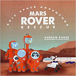 Space Coloring Pages Exploring Beyond Mars | Amazon Com Mars Rover Rescue Epic Space Adventure 9781941434567