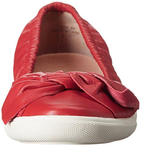 Femminile Piatto Court Rosso Piatto Olga Rosso x6q67nF