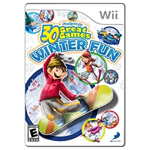 Family Party Winter Fun - Nintendo Wii