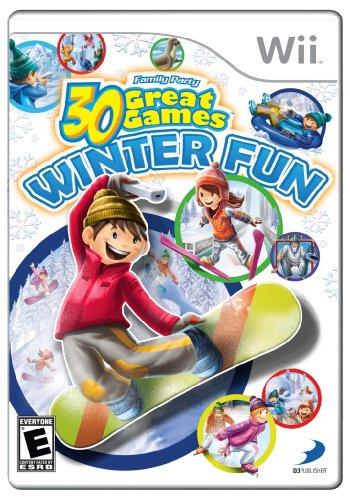 Family Party Winter Fun - Nintendo Wii (Games Wii Fun)