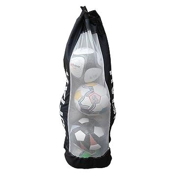 9eeac2b79b SUFIAH ® 4 6 8 12 BALLS Heavy Duty Football Bag Soccer Ball Holder Shoulder  Strap