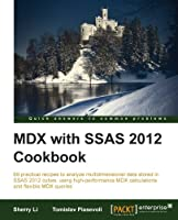 MDX with SSAS 2012 Cookbook Front Cover