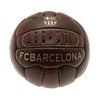 FCB FC Barcelona - Balón oficial modelo retro Heritage tamaño mini ...