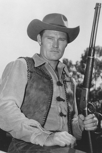 Chuck Connors The Rifleman B&W Poster
