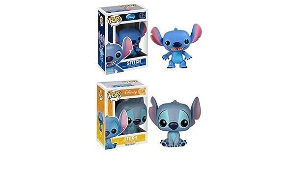 Funko Pop! Lilo & Stitch: Stitch + Seated Stitch - Disney ...