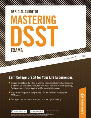 Official Guide to Mastering DSST Exams