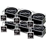 Hockey Puck Display Case Cube Square Holder - 6 Count by BCW