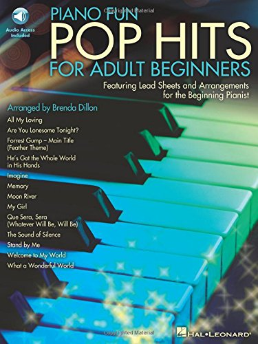 - Piano Fun-Pop Hits For Adult Beginners Book/Audio Online