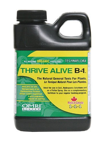 Technaflora Thrive Alive B-1 Fertilizers, 250 mL, Green