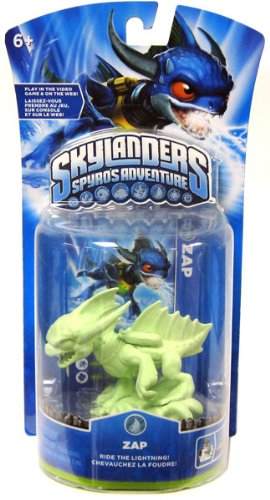 Skylanders Spyro's Adventure: Glow in the Dark Zap - Extremely Rare and Collectible Variant by Activision
