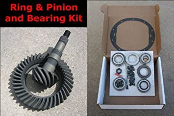 """CHEVY GM 8.5/"""" 10-Bolt Gears 4.56 Ratio /& Master Bearing Installation Kit NEW"""