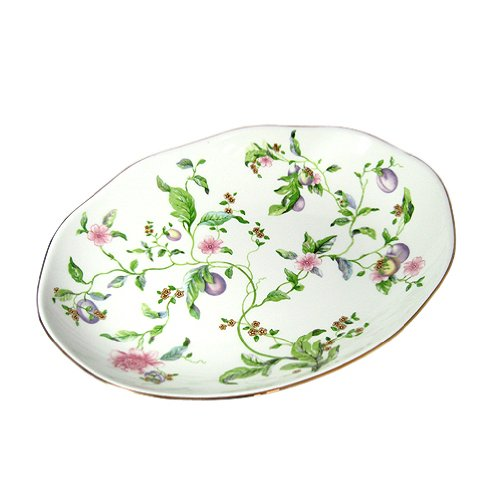 Wedgwood Sweet Plum - Wedgwood ( Wedgwood ) Sweet Plum Oval dish [ parallel import goods ]