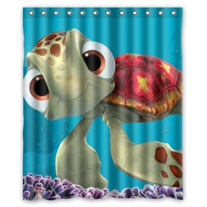 Finding Nemo Custom Waterproof Shower Curtain 60x72 Inch Bath