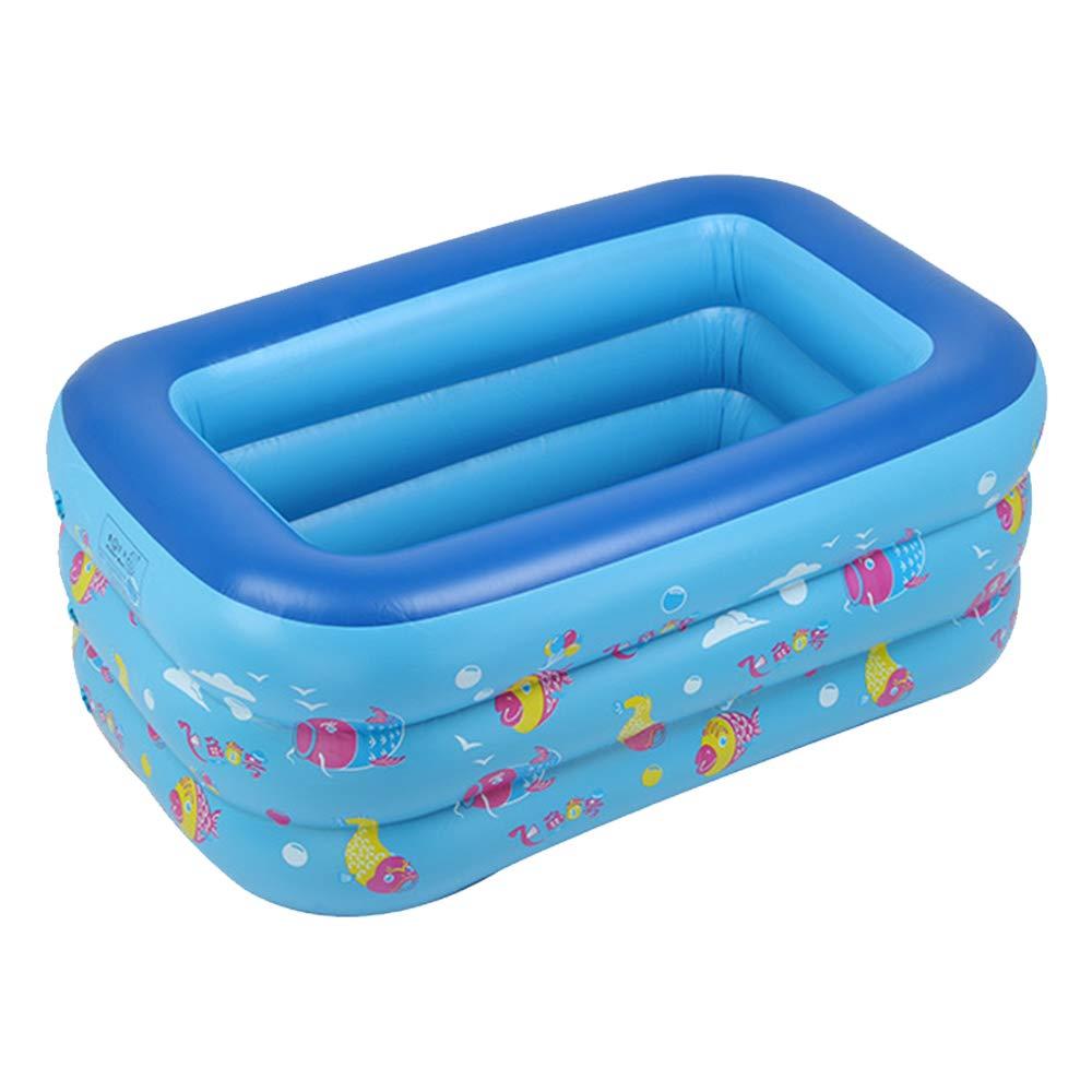 YOCC Family Fun Lounge Pool & Soft Bath Tub Bañera Inflable 3 Tier ...