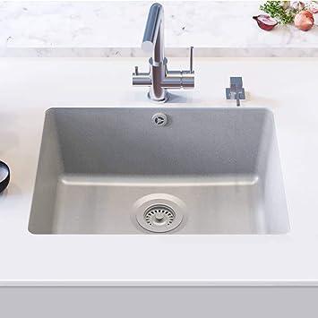 Favorit Festnight Granitspüle Einzelbecken   Küchenspüle Spüle   Unterbau ZG63
