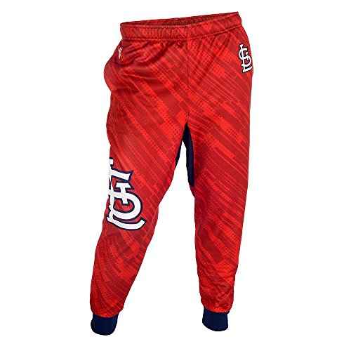 St. Louis Cardinals Polyester Mens Jogger Pant Double Extra Large