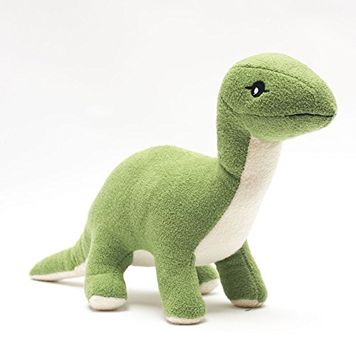 Osye 20cm Stuffed Animals Long Neck Dinosaur Plush Toys Christmas Present, Green -